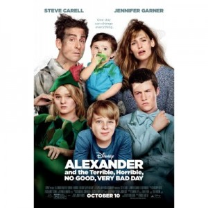 As the title of the movie suggests, the Cooper family isn't having  a very good day at all in Alexander and the Terrible, Horrible, No Good, Very Bad Day . (Courtesy of Disney)