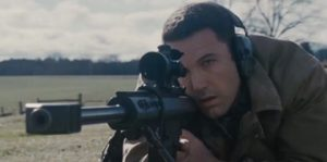 "Ben Affleck's misses the mark in The Accoutant."" (Warner Bros.)"