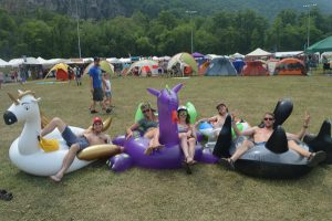 Fans found a way to chill by any means necessary at DelFest.