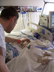Ryan and Kia after the transplant. (Courtesy photo)