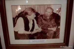 Robert Redford and Fidel Castro.