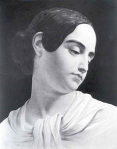 Poe's wife Virginia. (Public Domain)