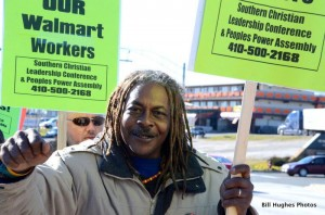 Walmart Protest Baltimore Employees Demand Better Wages