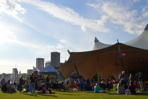 It was a beautiful spring night for a concert at Pier Six Pavilion on Saturday.