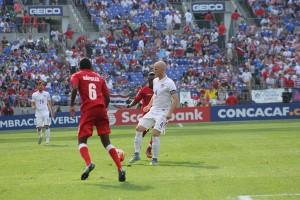 Michael Bradley was fantastic controlling the midfield against Cuba. (Costa Swanson)