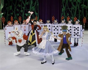Will Alice escape the mean Queen of Hearts and her Army of Cards?