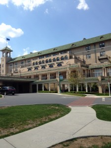 Completed in 1933, Hotel Hershey features 276 rooms.