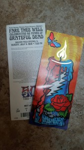 The Holy Grail of Grateful Dead tickets: Admission to Sunday's show, the band's final performance. (Chris Swanson)