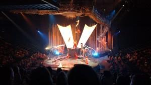The acrobatics in Cirque du Soleil's Varekai are worth the price of admission.