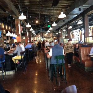 Dinosaur Bar-B-Que, which is at 1401 Fleet Street, is a welcome addition to Harbor East. (Eddie Applefield)
