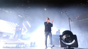 Chris Tomlin and his Love Red Round tour visited Royal Farms Arena on Nov. 13. (Costa Swanson)