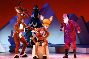 Rudolph and Santa Claus will star in Rudolph The Red-nosed Reindeer: The Musical at the Lyric on Dec. 26-27. (Lyric)