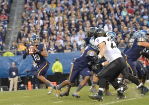Keenan Reynolds is the only quarterback to go 4-0 as a starter in the Army-Navy game.
