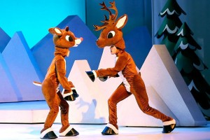 You can't have Rudolph the Red-Nosed Reindeer without having his buddy, Donner. (Lyric)