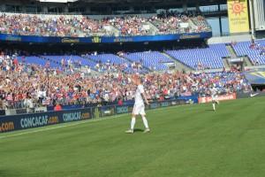 Man of the match? No question: Clint Dempsey. (Joe Gallo)